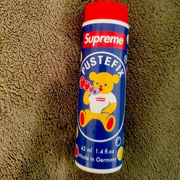 NEW Supreme Pustefix Soap Bubbles 1.4oz 42ml SS21